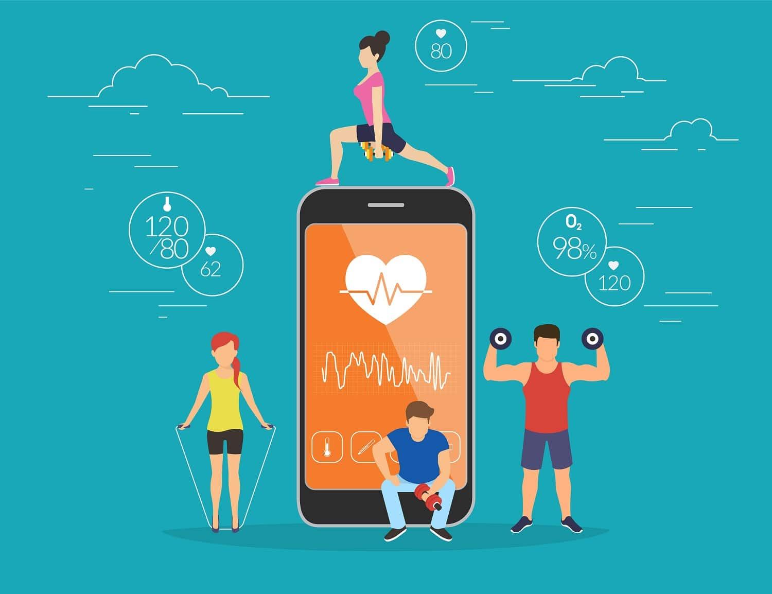8 Fabulous Fitness Apps for your Android Phone - AppyHapps
