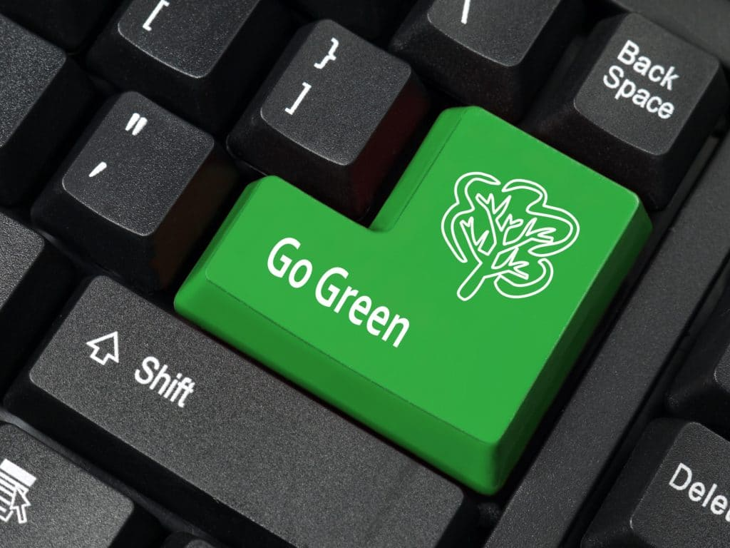 Go-Green-With Your Website